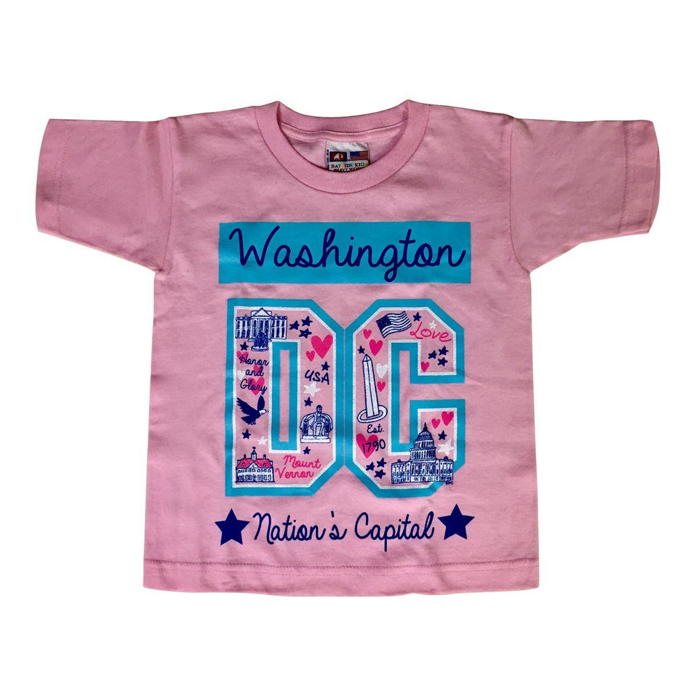 Washington DC Child's City T-Shirt - PLANET COTTON - The Shops at Mount Vernon