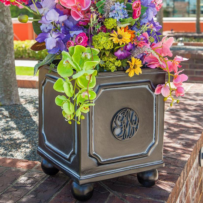 George Washington Cypher Planters - The Shops at Mount Vernon - The Shops at Mount Vernon
