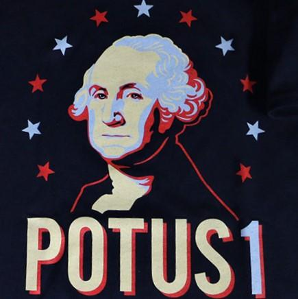 Children's POTUS 1 Shirt - PLANET COTTON - The Shops at Mount Vernon