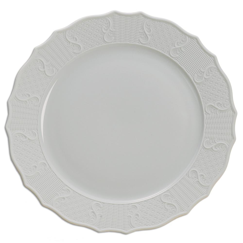 "Mount Vernon Prosperity 12"" Service Plate - MOTTAHEDEH & COMPANY, INC - The Shops at Mount Vernon"