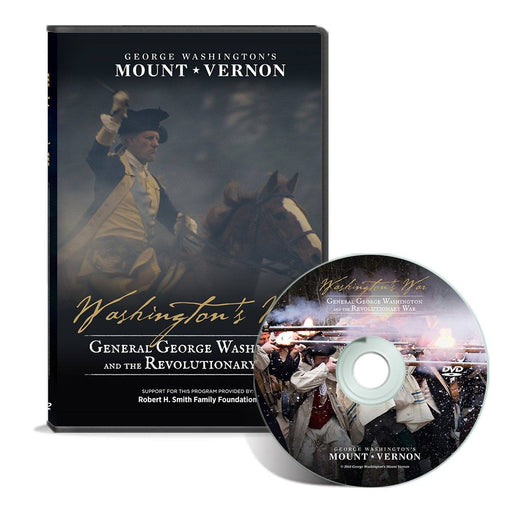 Washington's War DVD - Wide Awake Films - The Shops at Mount Vernon