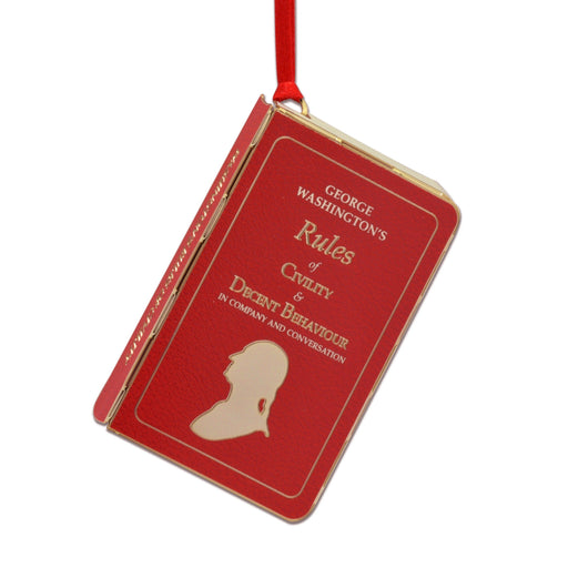 Rules of Civility Ornament - DESIGN MASTER ASSOCIATES - The Shops at Mount Vernon