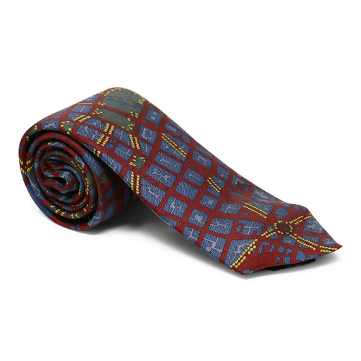 Washington DC Tie Red and Blue - JOSH BACH LIMITED - The Shops at Mount Vernon