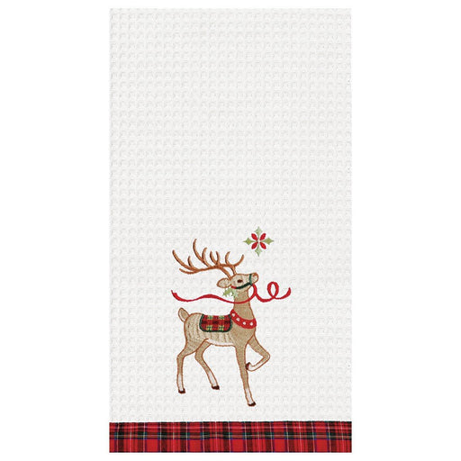 Reindeer Wonderland Towel - C & F ENTERPRISE - The Shops at Mount Vernon