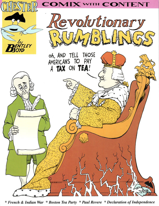 Revolutionary Rumblings - 3rd Edition Comix - The Shops at Mount Vernon - The Shops at Mount Vernon