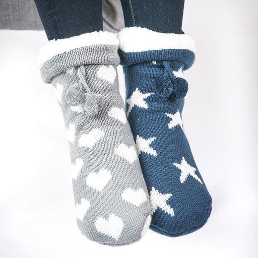 Star Slipper Socks - TOP IT OFF - The Shops at Mount Vernon