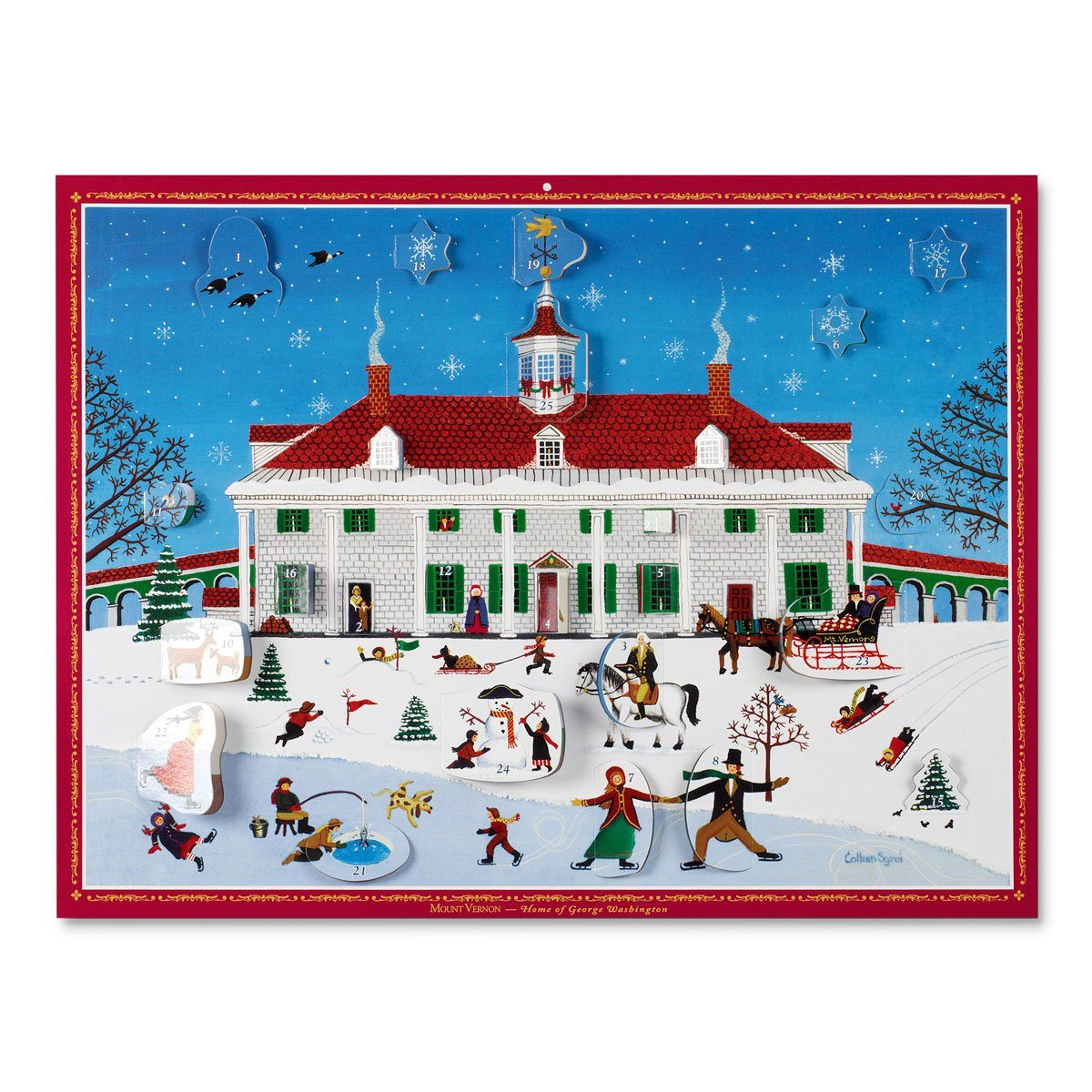 Mount Vernon Advent Calendar