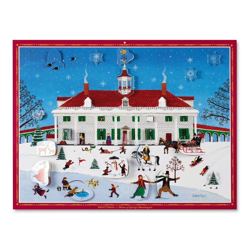 Mount Vernon Advent Calendar - DESIGN MASTER ASSOCIATES - The Shops at Mount Vernon