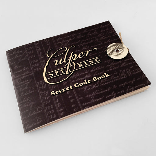 Culper Spy Ring Code Book - DESIGN MASTER ASSOCIATES - The Shops at Mount Vernon