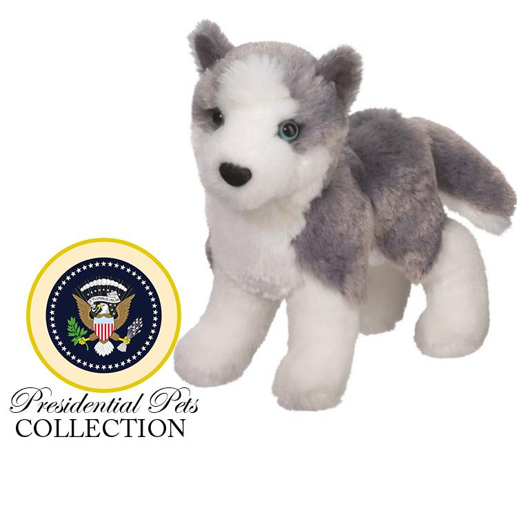 "James Monroe's Siberian Husky ""Sebastian"" - The Shops at Mount Vernon - The Shops at Mount Vernon"