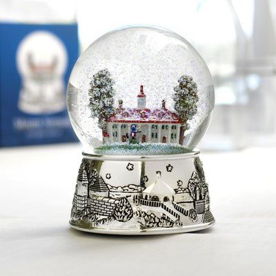 Mount Vernon Musical Snow Globe