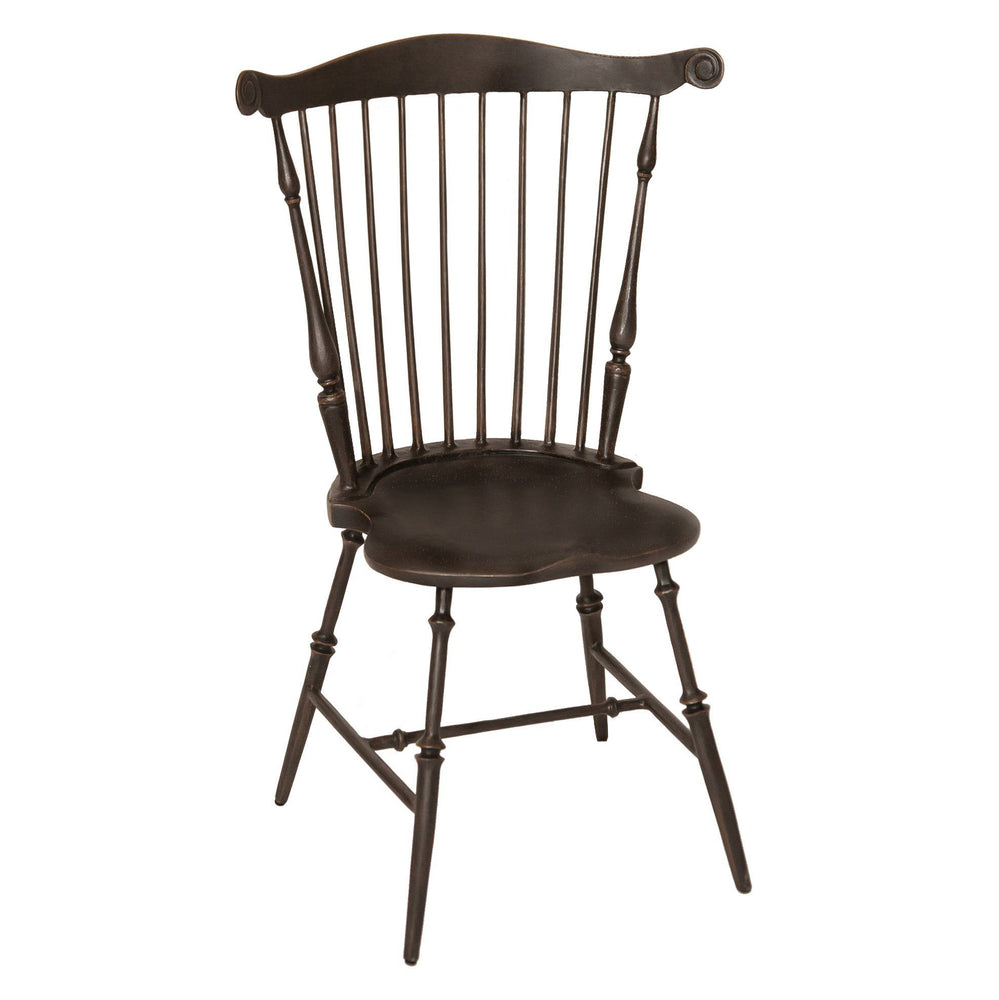 Mount Vernon Fan Back Windsor Chair - Three Coins Cast - The Shops at Mount Vernon