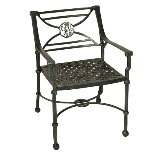 George Washington's Cypher Garden Chair - The Shops at Mount Vernon - The Shops at Mount Vernon