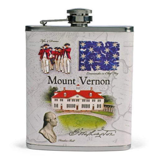 Mount Vernon Scenes Flask - DESIGN MASTER ASSOCIATES - The Shops at Mount Vernon