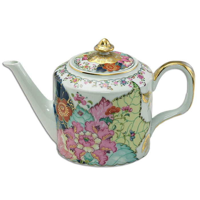 Tobacco Leaf Fine Hard Porcelain Teapot - MOTTAHEDEH & COMPANY, INC - The Shops at Mount Vernon