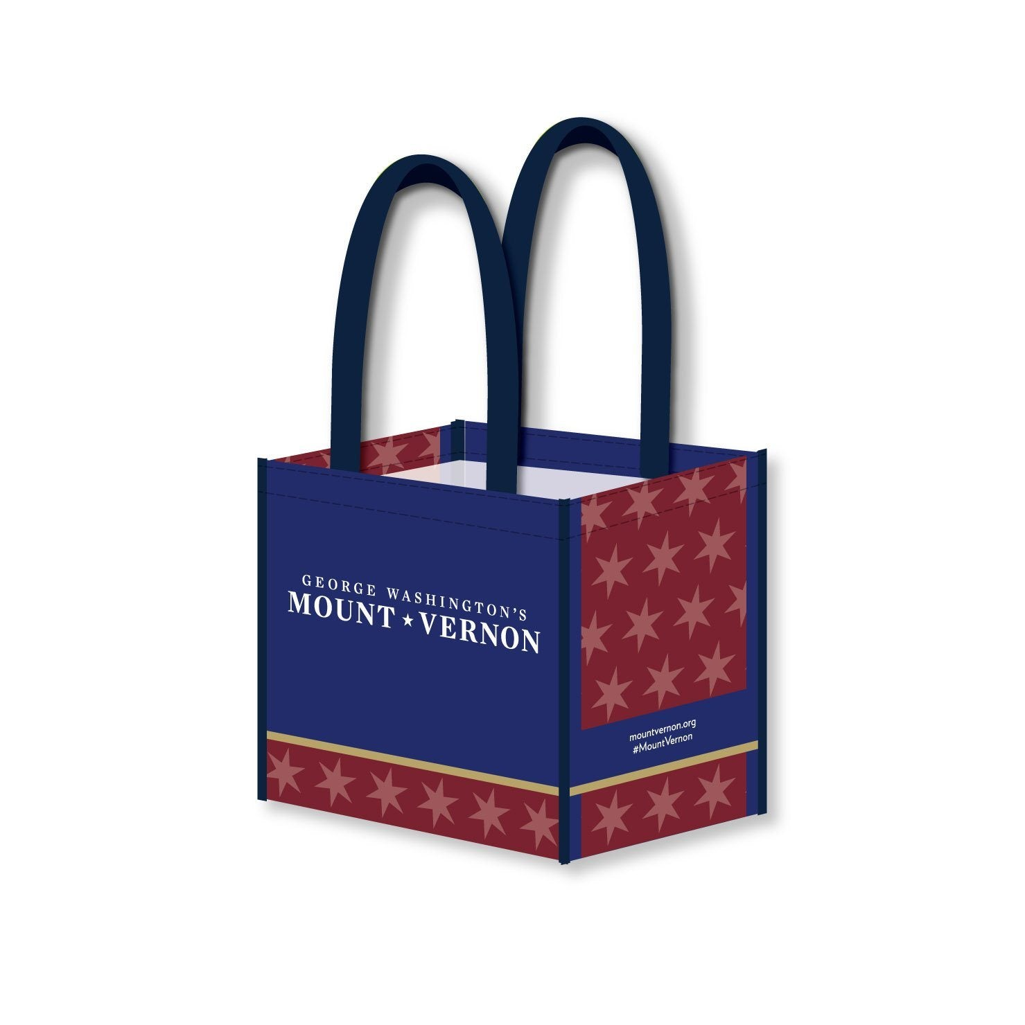 Mount Vernon Recycled Bottle Tote