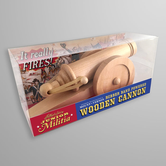 Rubber Band Wooden Cannon - DESIGN MASTER ASSOCIATES - The Shops at Mount Vernon