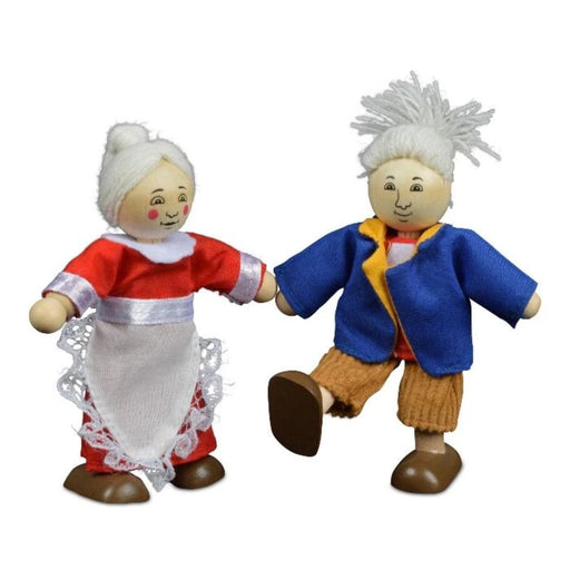 George & Martha Washington Wooden Dolls - DESIGN MASTER ASSOCIATES - The Shops at Mount Vernon