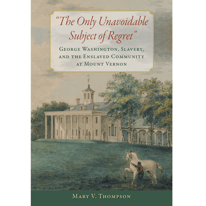 The Only Unavoidable Subject of Regret - UVA PRESS - The Shops at Mount Vernon