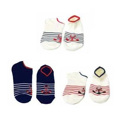 Anchors Socks - set of 3 - TOP IT OFF - The Shops at Mount Vernon