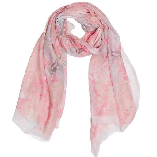 Scarf Pink Dragonfly - TOP IT OFF - The Shops at Mount Vernon