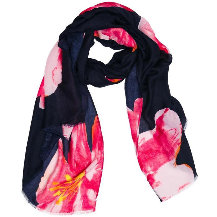 Scarf Navy Paradise - TOP IT OFF - The Shops at Mount Vernon