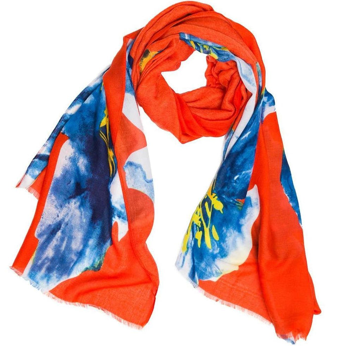 Scarf Red Paradise - TOP IT OFF - The Shops at Mount Vernon