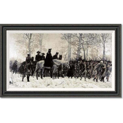 Washington at Valley Forge by Trego: Medium Edition