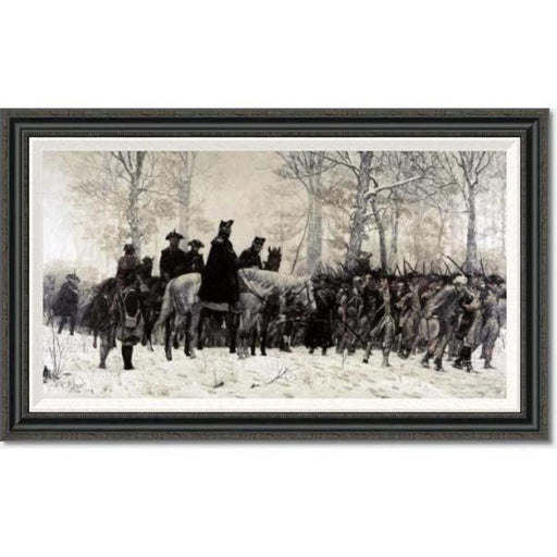 Washington at Valley Forge by Trego: Large Edition - BENTLEY GLOBAL ARTS GROUP - The Shops at Mount Vernon