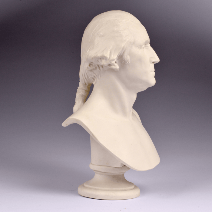 "Houdon 8"" Bust of George Washington - DESIGN MASTER ASSOCIATES - The Shops at Mount Vernon"