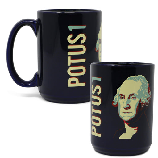 GW POTUS 1 Mug - The Shops at Mount Vernon - The Shops at Mount Vernon