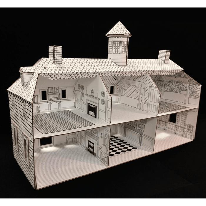 Mount Vernon Color Me Dollhouse - DESIGN MASTER ASSOCIATES - The Shops at Mount Vernon