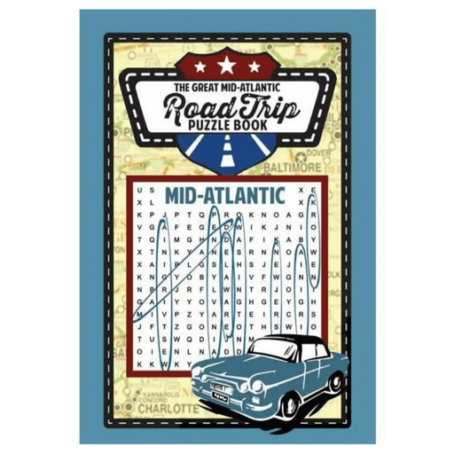 Great American Mid-Atlantic Road Trip Puzzle Book - APPLEWOOD BOOKS - The Shops at Mount Vernon