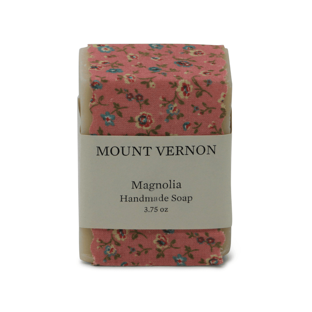 Mount Vernon Magnolia Soap - The Parsonage - The Shops at Mount Vernon
