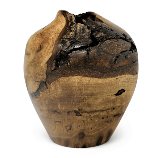 Historic White Oak Vase #10 - DOUG DILL - The Shops at Mount Vernon