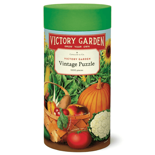 Victory Garden Vintage Puzzle - Cavallini Papers & Co. Inc - The Shops at Mount Vernon