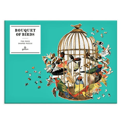 Bouquet of Birds Puzzle - CHRONICLE BOOKS - The Shops at Mount Vernon