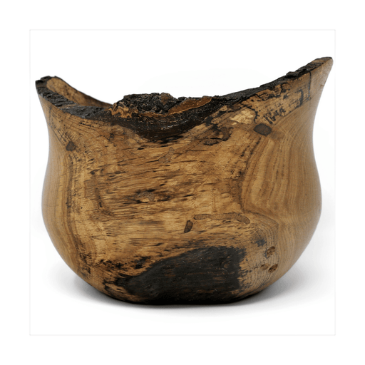 Historic Chestnut Oak Wood Bowl - Doug Dill - The Shops at Mount Vernon