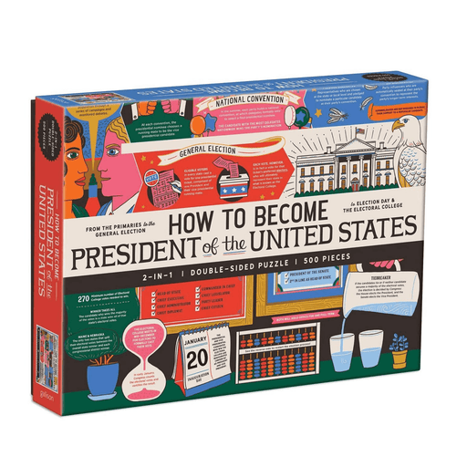 How To Become President of the United States Puzzle - HACHETTE GROUP - The Shops at Mount Vernon