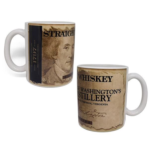 GW Distillery Straight Rye Whiskey Mug