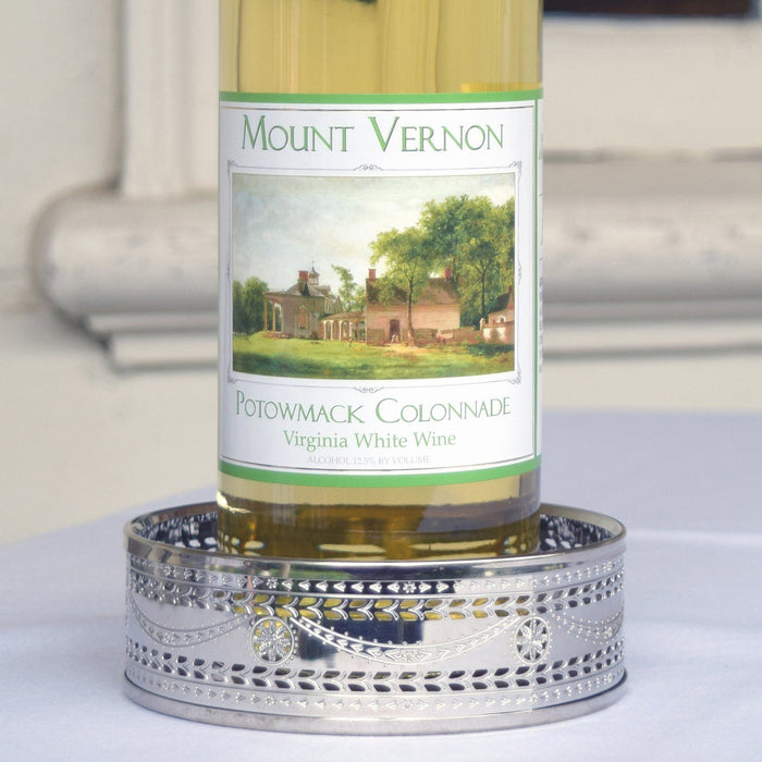 Martha Washington Wine Coaster - The Shops at Mount Vernon - The Shops at Mount Vernon
