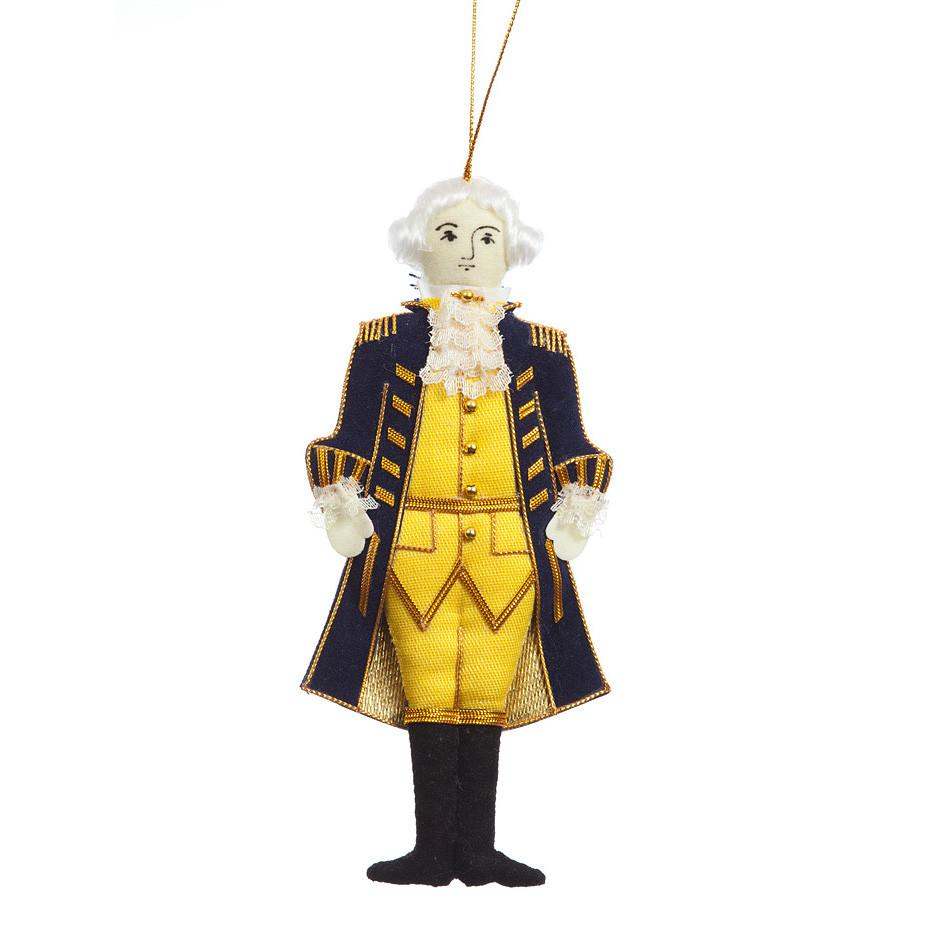 George Washington Ornament - ST NICOLAS LTD. - The Shops at Mount Vernon