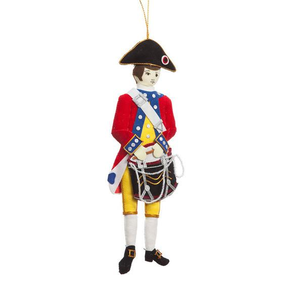 Revolutionary Drummer Ornament - ST NICOLAS LTD. - The Shops at Mount Vernon