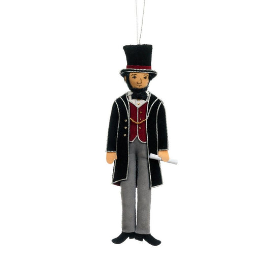 Abraham Lincoln Ornament - ST NICOLAS LTD. - The Shops at Mount Vernon