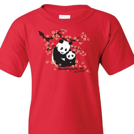 Washington DC Panda Child's T-Shirt - The Shops at Mount Vernon - The Shops at Mount Vernon