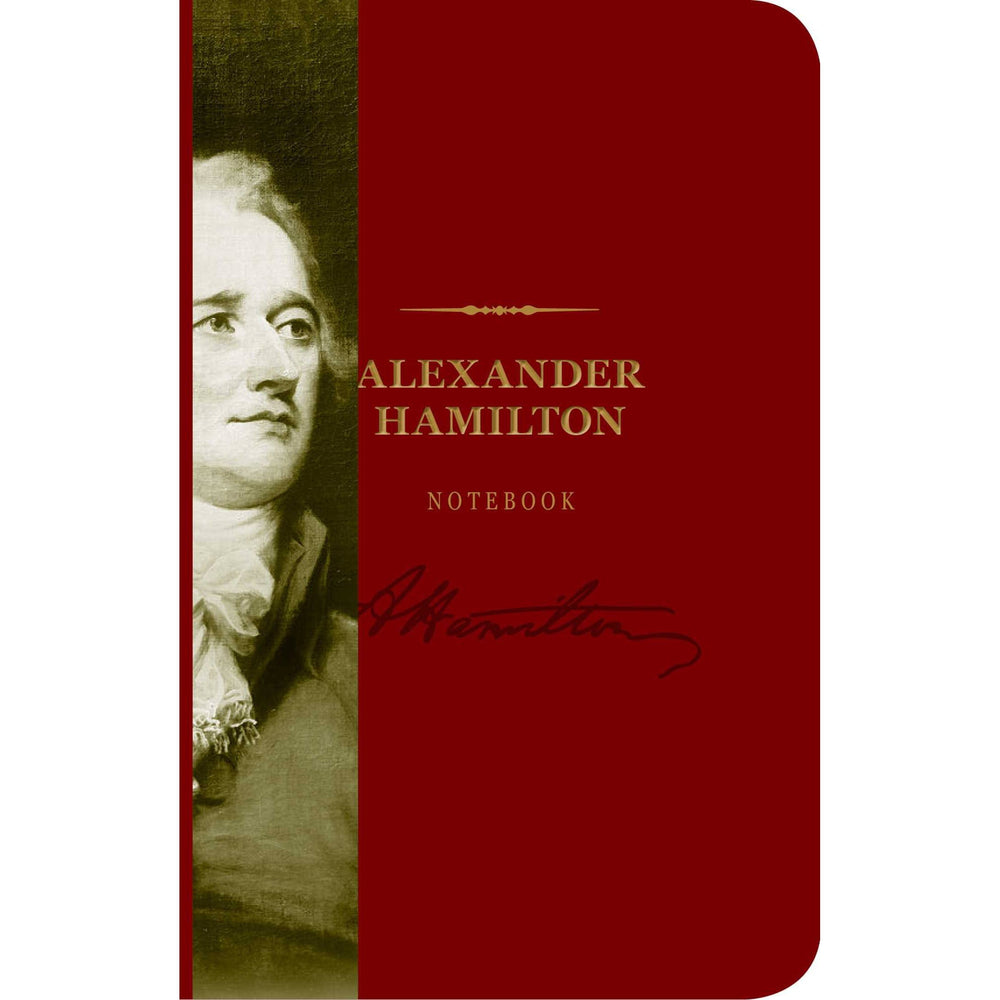 Alexander Hamilton Notebook - SIMON & SCHUSTER - The Shops at Mount Vernon