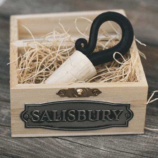 Forged Bottle Stopper - SALISBURY PEWTER - The Shops at Mount Vernon