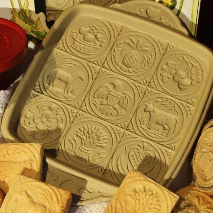 American Butter Art Shortbread Pan - BROWN BAG DESIGNS - The Shops at Mount Vernon