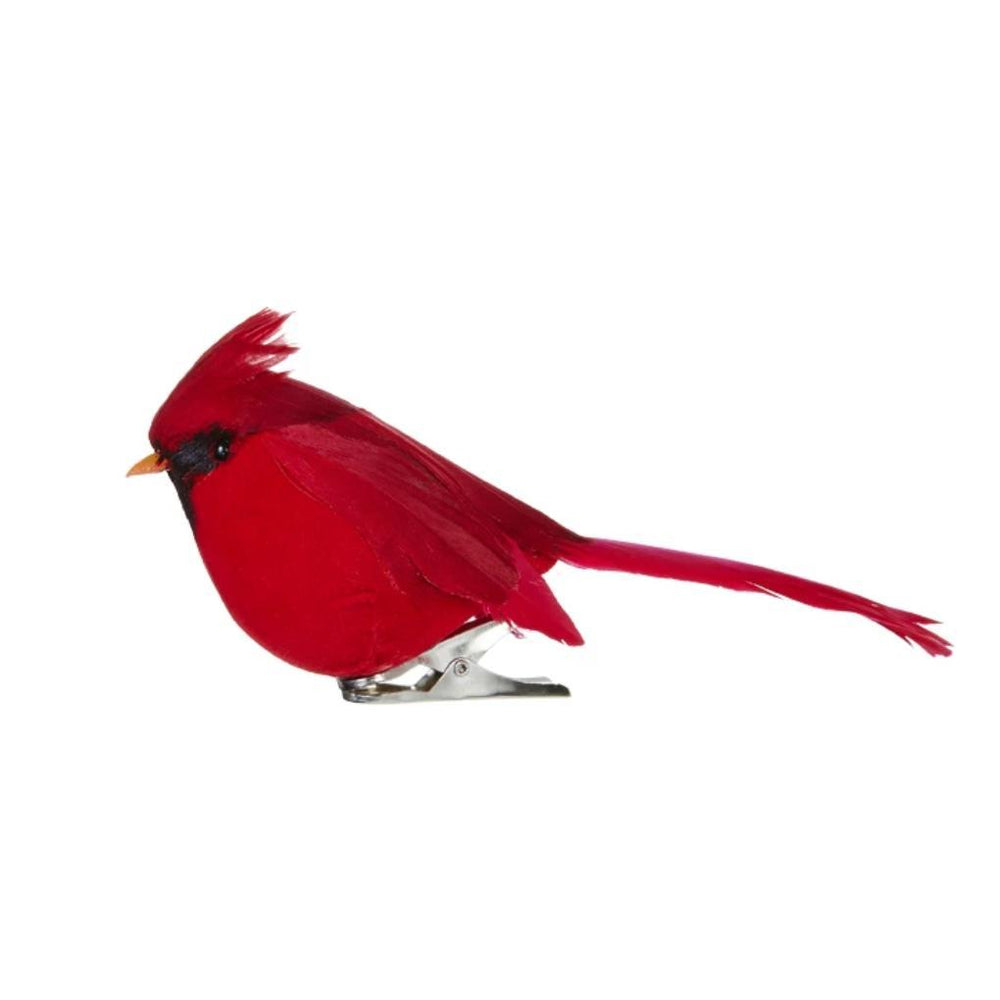 Clip-on Cardinal Ornament - RAZ IMPORTS INC - The Shops at Mount Vernon