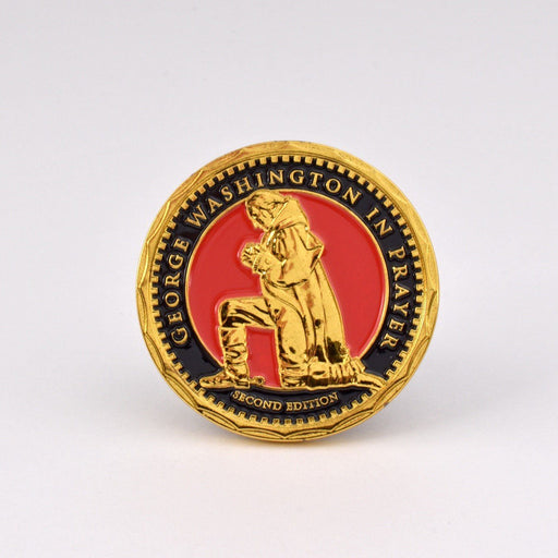 GW in Prayer Challenge Coin - Second Edition - DESIGN MASTER ASSOCIATES - The Shops at Mount Vernon